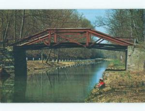 Pre-1980 ONE OF THE CANAL BRIDGES Fairless Hills & Croydon & Levittown PA d3802