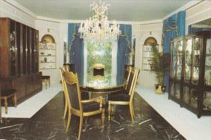 Elvis Presley Graceland Mansion Dining Room Memphis Tennessee