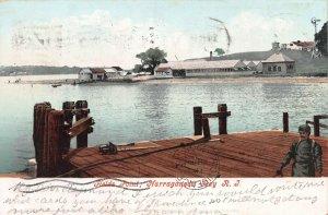 Fields Point, Narragansett, Rhode Island, Early Postcard, Used in 1905