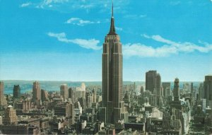 Postcard Empire State Building New York