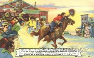 St. Joseph, Mo, USA Western Cowboy, Cowgirl Postcard Postcards St. Joseph, MO...