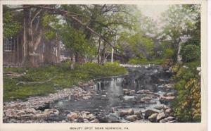 Pennsylvania Beauty Spot Near Norwich 1914