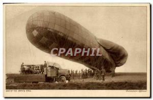 Old Postcard Jet Aviation Airship Zeppelin Canada