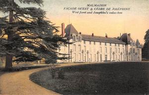 Malmaison France West front and Josephine's cedar tree Malmaison West front a...