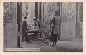 Isfahan Iran Tschahar Bagh Real Photo Postcard J47169