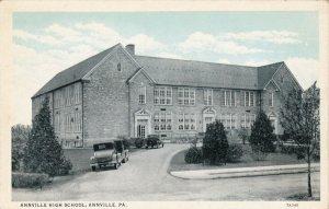 Pennsylvania Annville The High School Curteich sk349