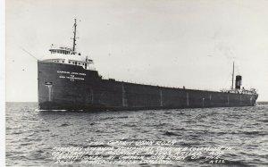 RP: MACKINAC , Michigan , 1940s ; reraised ship The Captain John Roen