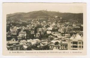 RP  Barcelona, Spain, Panorama de la Montana del TIBIDABO, Spain, 1910-30s
