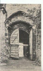 Isle of Wight Postcard - 14th Century Gate - Carisbrooke Castle - Ref 17795A