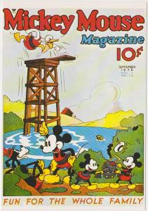 DISNEY MICKEY MOUSE MAGAZINE 1936 COVER