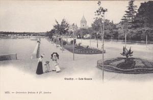 OUCHY, Switzerland, 1900-10s ; Les Quais #2