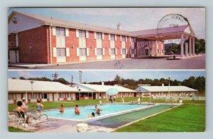 Meridian MS-Mississippi, Ramada Inns Of Meridian, Chrome Postcard