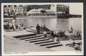 Wales Postcard - Promenade and Pavilion, Llandudno   RS18124
