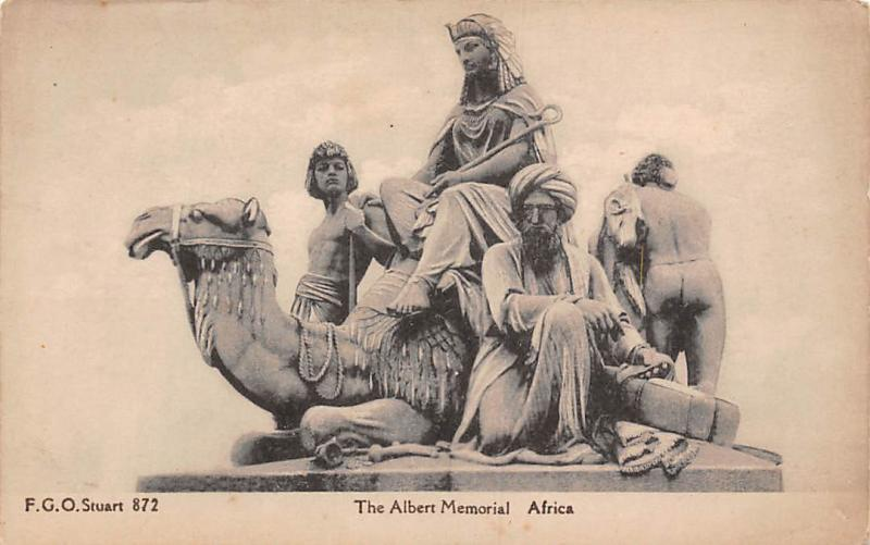 The Albert Memorial Africa Camel