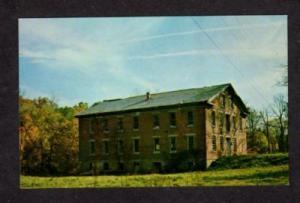 IN Yount Woolen Mill nr CRAWFORDSVILLE INDIANA Postcard