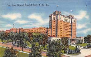 Battle Creek Michigan~Percy Jones General Hospital~1940 Postcard