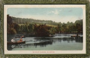 MARPLE, England , 00-10s ; Roman Lakes, people in rowboats