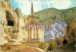 Postcard Modern Nevsehir Zelve Zelve Turkiye