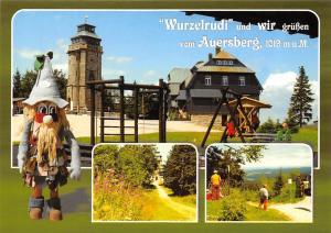 Wurzelrudi und wir gruessen vom Auersberg Berghotel