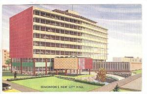 New City Hall, Edmonton, Alberta, Canada, 40-60s