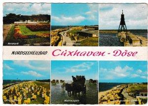 Post Card Cuxhaven-Doge Noordseeheilbad