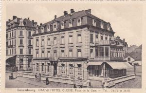 Luxembourg , Grand Hotel Clesse , 1920-30s