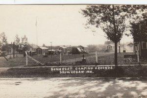 RP: SKOWHEGAN , Maine , 1900-10s ; Somerset Camping Grounds
