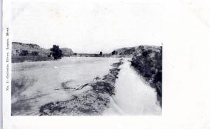 GALLATIN RIVER, LOGAN, MONTANA.  PRE-1907.
