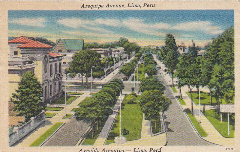 LIMA , Peru , 30-40s ; Arequipa Avenue