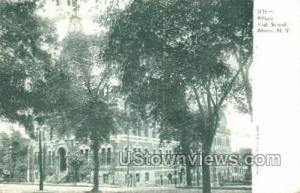 Albany High School Albany NY Unused