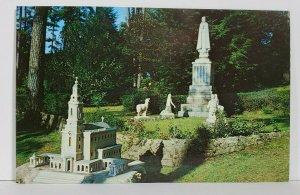 Cullman Alabama Our Lady of Fatima Group Ave Maria Grotta Postcard N2