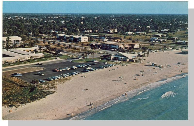 Venice, Florida/FL Postcard, Ultra-Modern Beach Casino