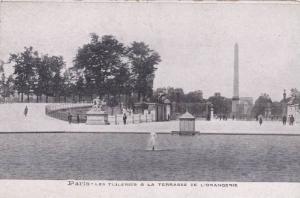 Les Tuileries & La Terrasse De L'Orangerie, Paris, France, 1900-1910s
