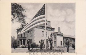 Flag Raising - Cadets, STELLA NIAGARA , New York , 20-40s