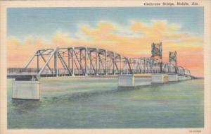 Alabama Mobile The Cochrane Bridge Curteich