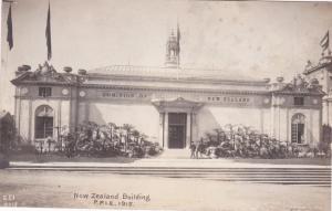 RP: New Zealand Bldg , Panama-Pacific Exposition , S.F. , California , 1915