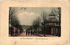 CPA La FERTÉ-BERNARD - Gare des Tramways (390903)