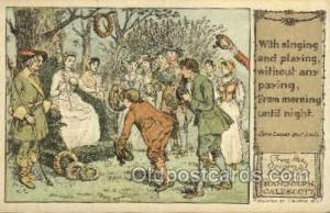 Come lasses and lads Original Drawings By Randolph Caldecott, Published by F....