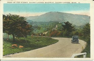 Jacob's Ladder,Mass., West of the Summit, Jacob's Ladder Roadway, Becket