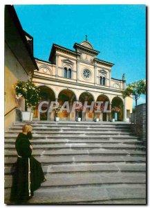 Modern Postcard Basilica Sanctuario Locarno Madonna del Sasso