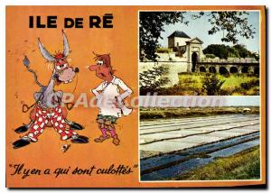 Postcard Modern Ile De Re there was Who Are Panties