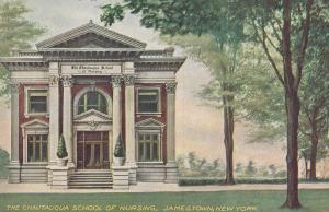 The Chautauqua School of Nursing New York Antique Postcard