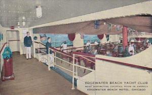 Illinois Chicago Edgewater Beach Hotel Edgewater Beach Yacht Club Cocktail Room