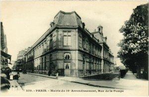 CPA PARIS 16e Mairie du 16e Arrondissement, Rue de la Pompe (66547)