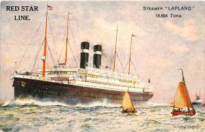 5174    S.S.  Lapland, Red Star Line.