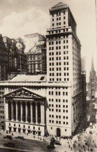 RP: NEW YORK CITY , 1930-40s ; Stock Exchange