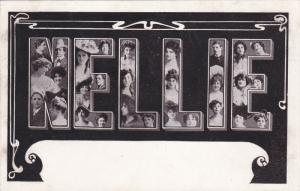 Large Letter Firstname postcard , Picture of Actresses , 00-10s ; NELLIE