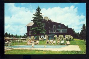 Moose River, Maine/ME Postcard, Sky Lodge & Motel, Route 201 Near Jackman