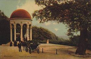 Tempel Auf Dem Neroberg, Horse Cart, Wiesbaden (Hesse), Germany, 1900-1910s