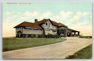 Waterbury Connecticut~Country Club~Ladies @ Open Window~c1910 Postcard